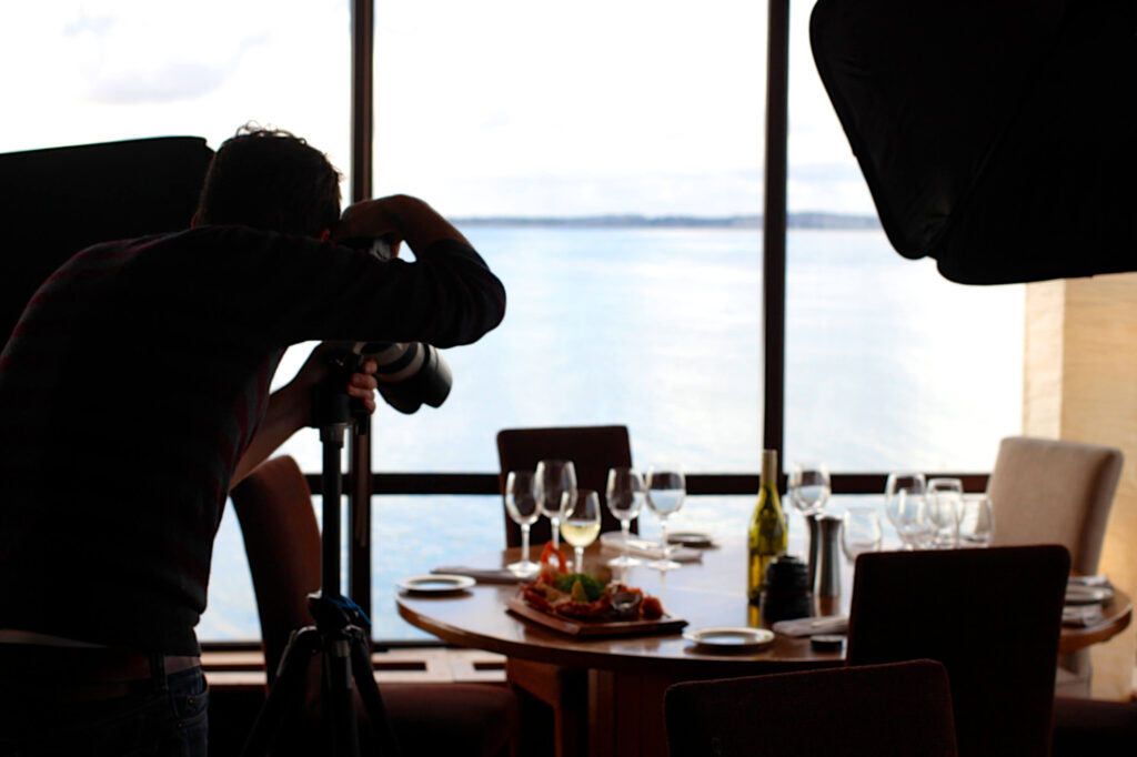 Work with a Professional Food Photographer
