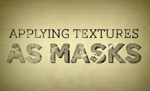 photographic textures into masks